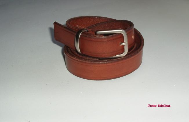 Cinturón de Cuero 2,5 cm - Marrón
