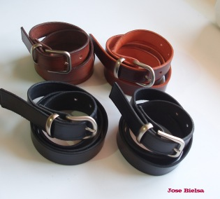 Cinturones de Cuero 3 cm